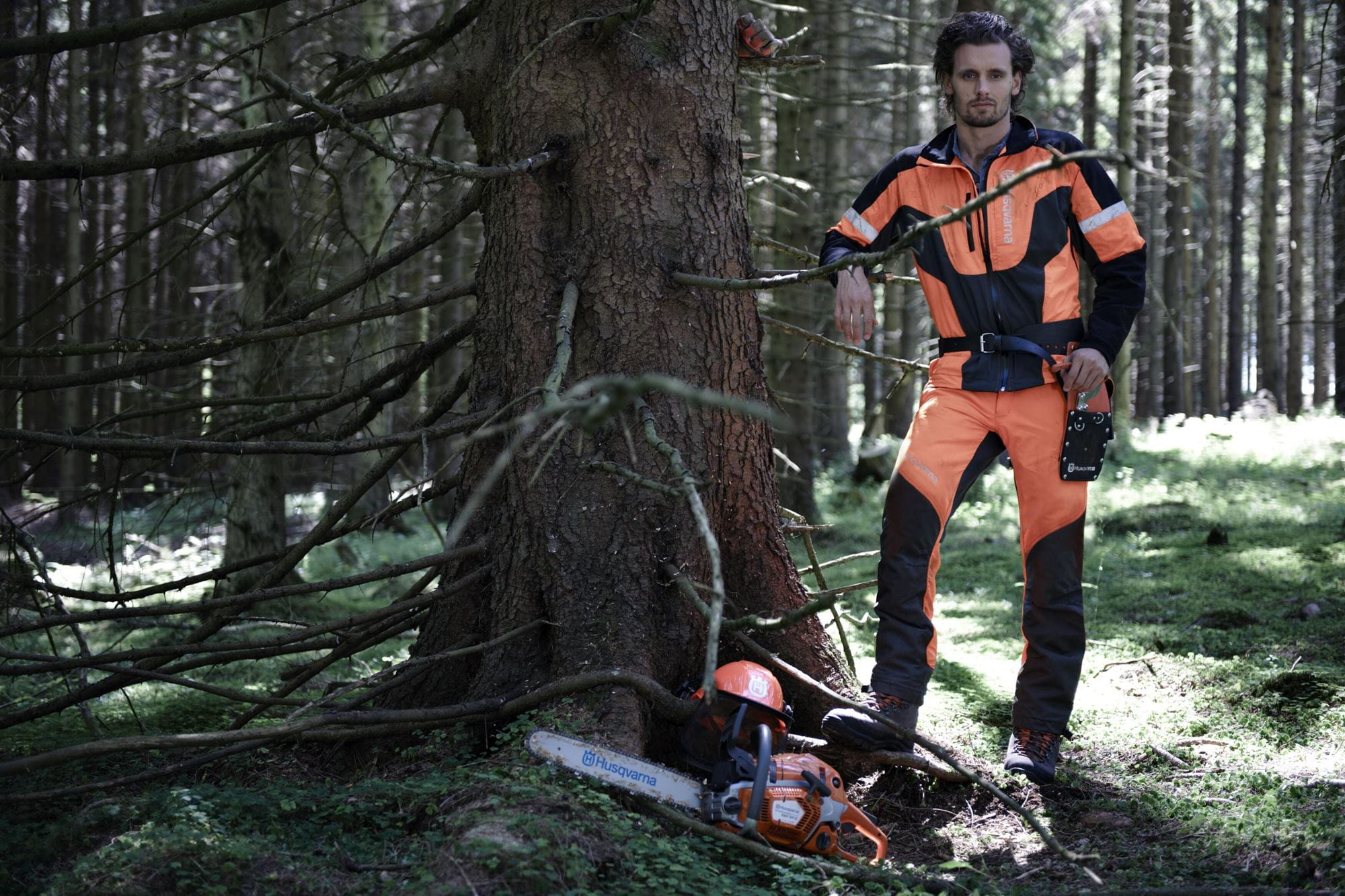 Chainsaw safety equipment