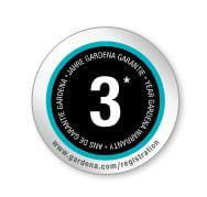 GARDENA 3 years warranty logo