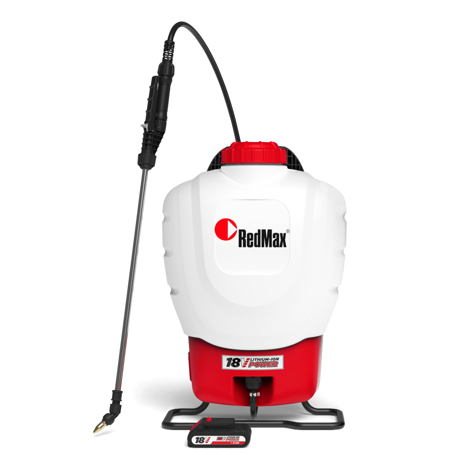 598967301 Red Max 4 Gallon Battery Backpack Sprayer