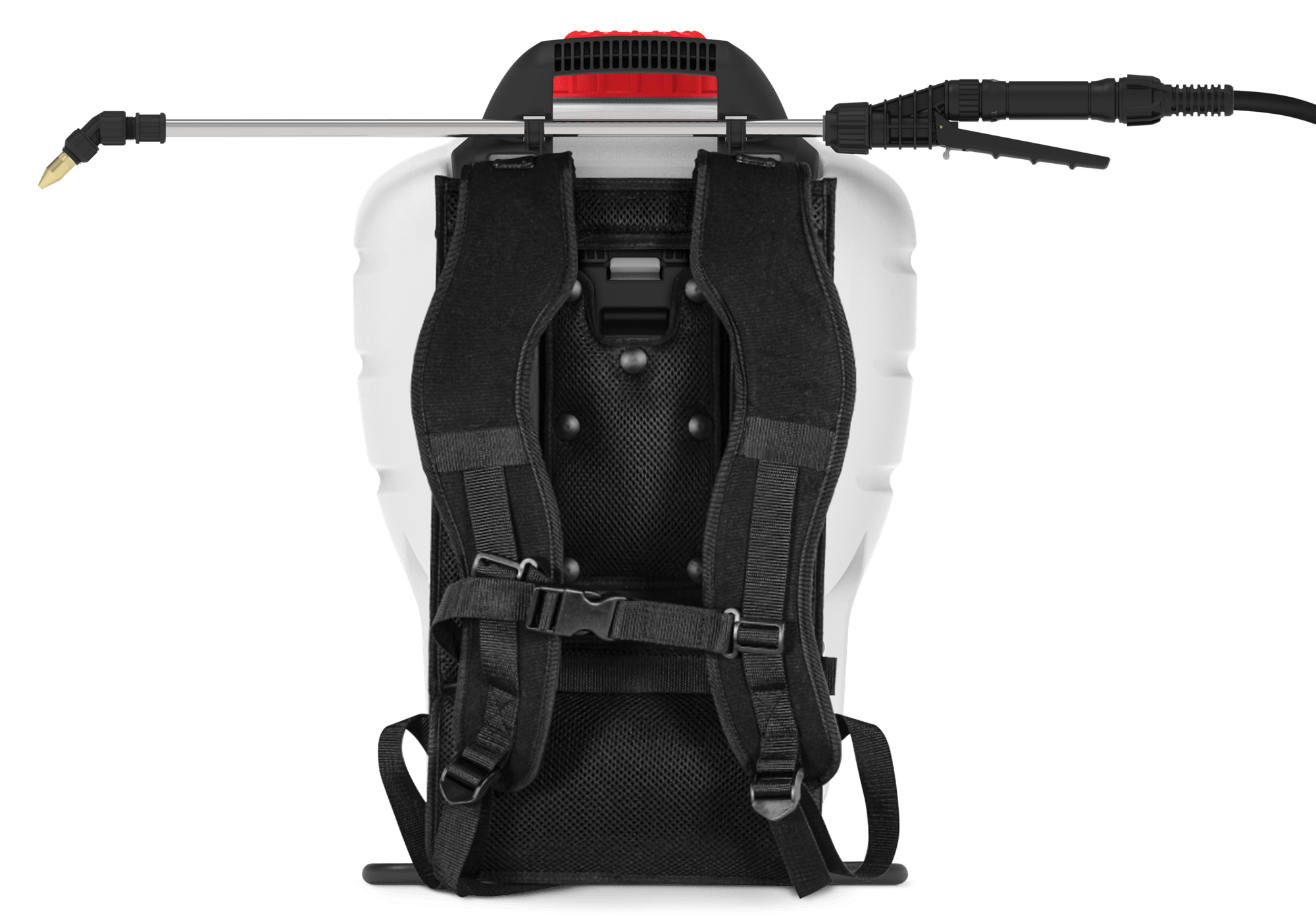 Harness for Red Max backpack battery sprayer