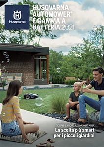 Brochure automower serie batteria 2021