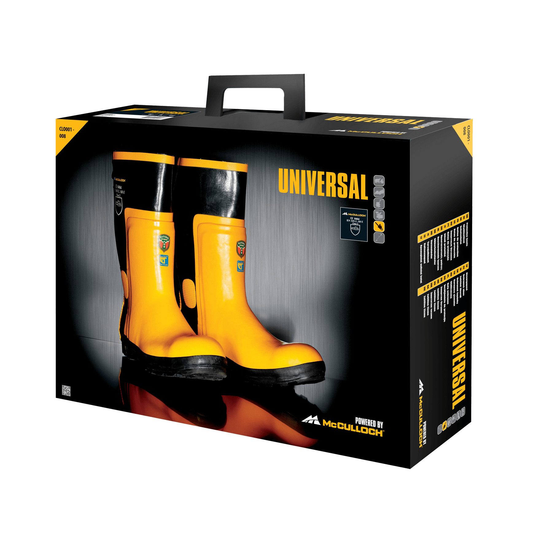 CLO001-010 - Rubber boots