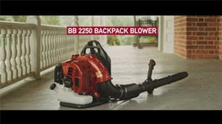 Backpack Blower Video