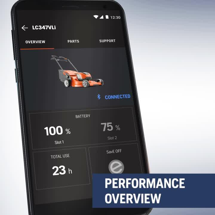 Husqvarna Connect -performance overview