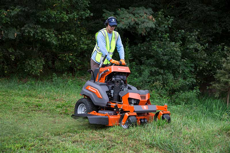 Husqvarna V554 stand on mower