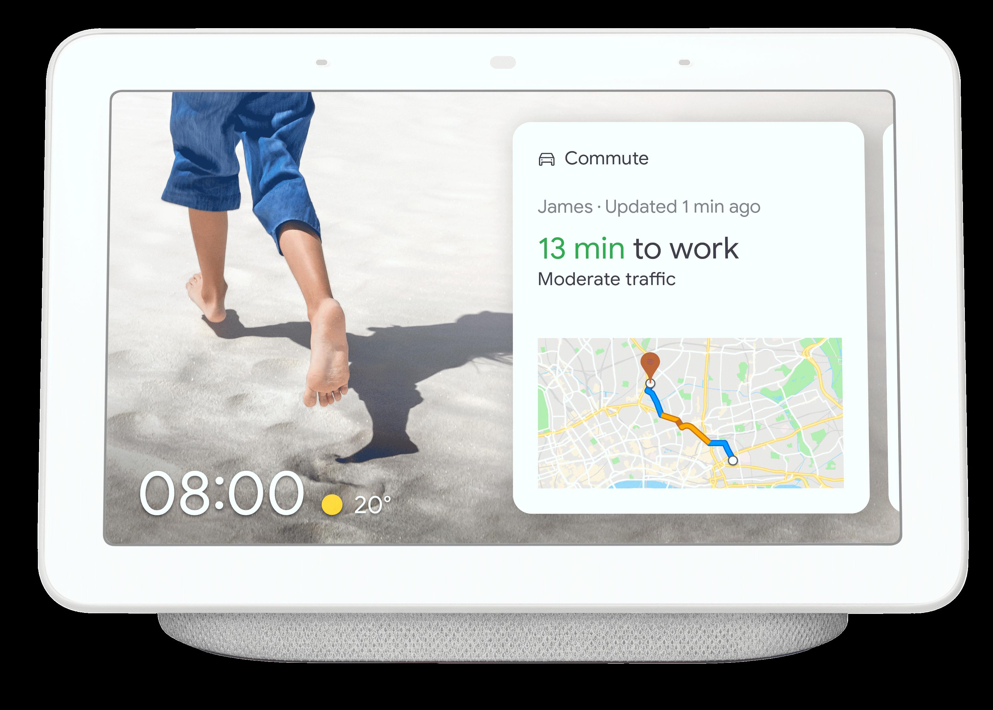 Google nest hub med Automower Husqvarna